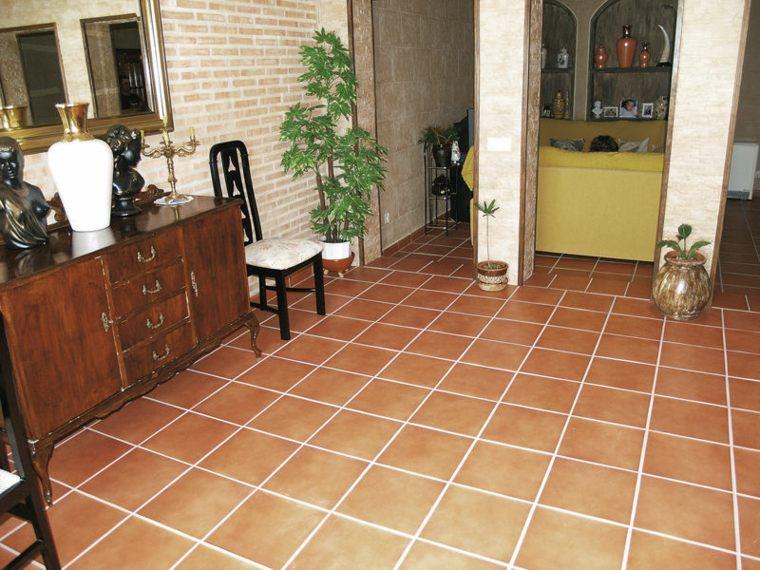 Azulejos r sticos para la decoraci n de los interiores for Baldosas para pisos interiores