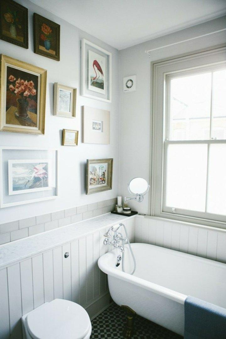 banera detalle retro blanco colores fuentes