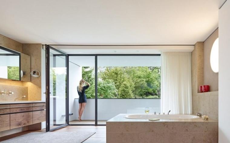 bano habitacion amplia diseno alexander brenner architects ideas
