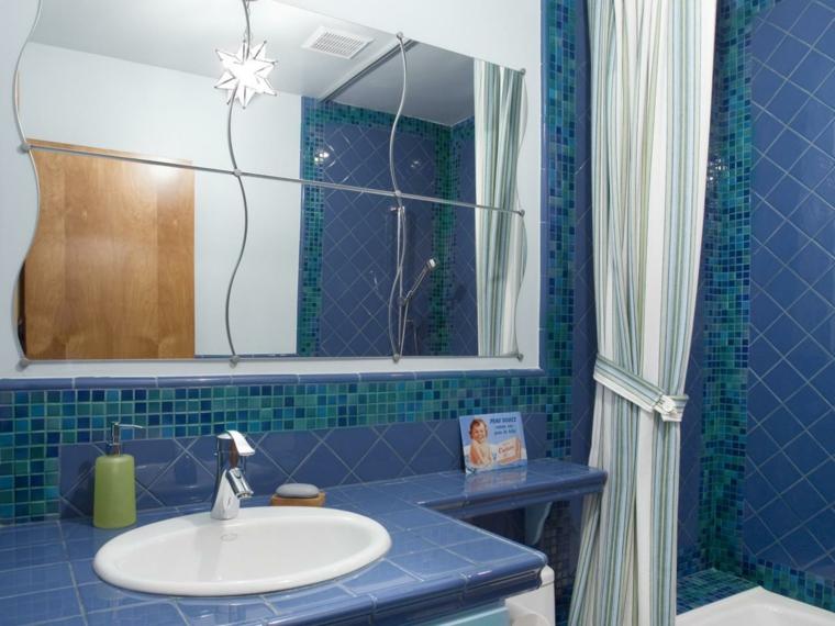 baños con encimera