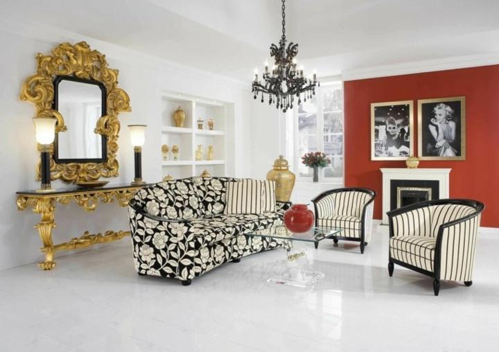 blanco juego elementos modernos salas