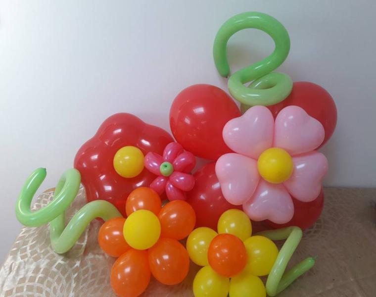 ideas decorativas adornos globos