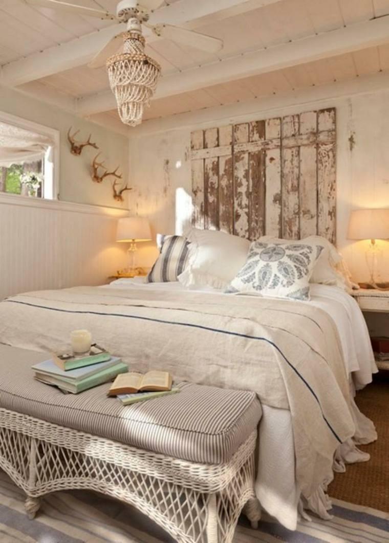 bonita habitacion estilo shaby chic