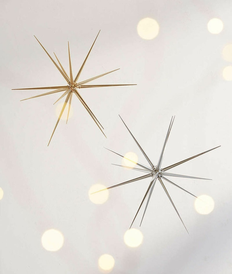 bonitas estrellas Navidad modernas