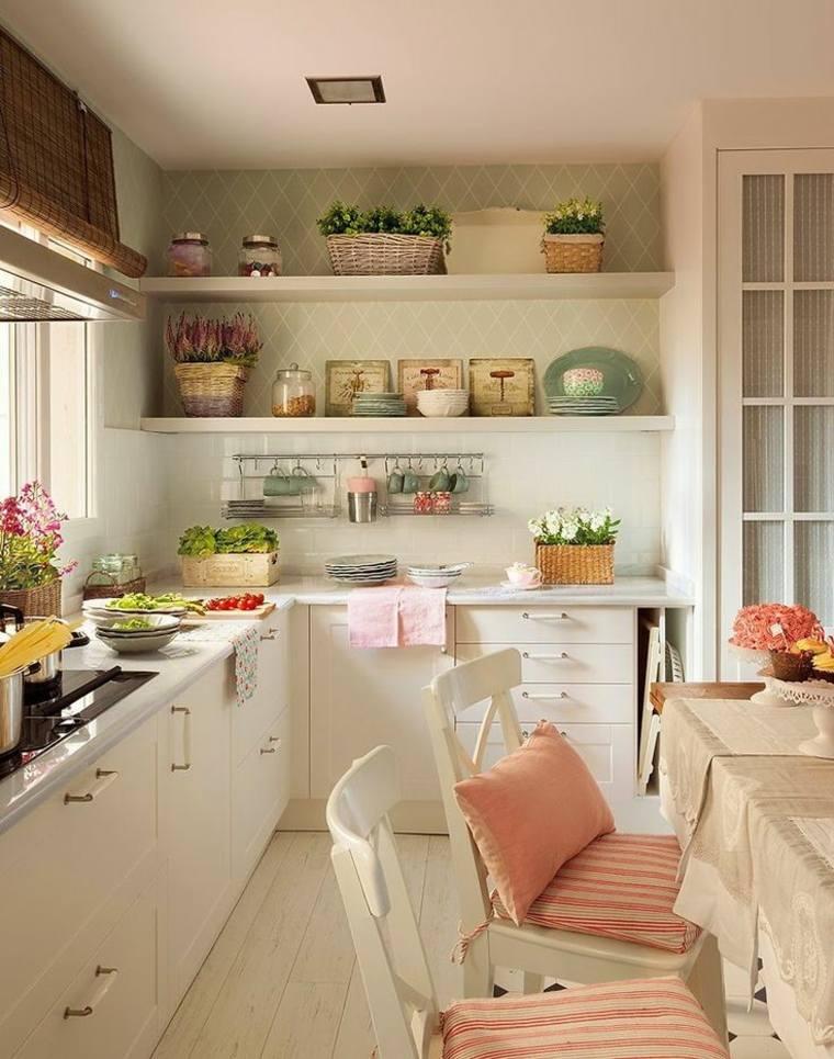 bonito diseño cocina retro