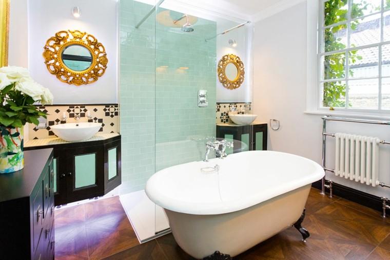 bonito diseño cuarto baño