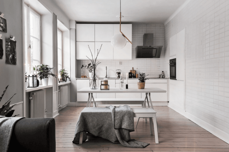 bonito diseño cocina moderna