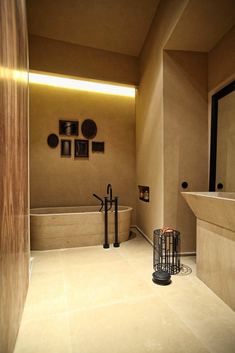 calidos muebles paredes estilos salones