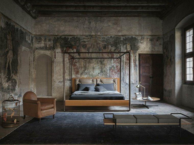 Decoraci n camas de matrimonio con dosel 36 ideas originales - Dormitorios originales ...
