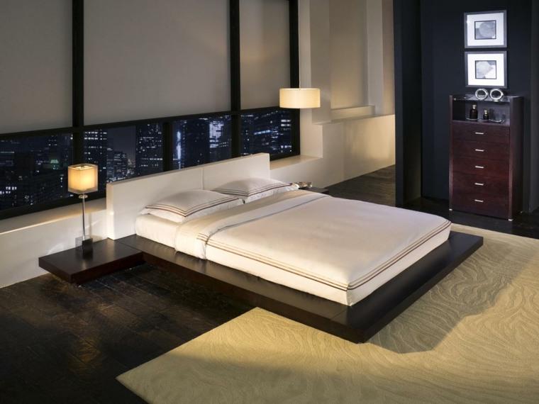 cama estilo japonés