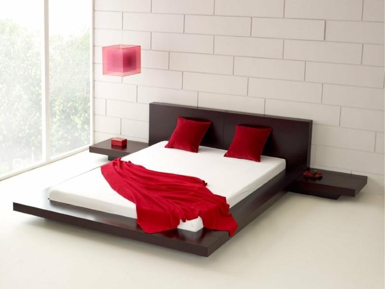 camas japonesas decoración dormitorio