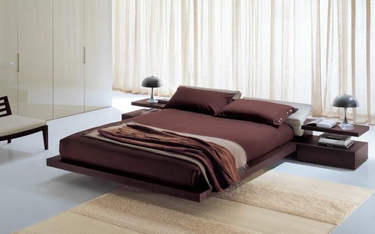 camas japonesas decoración dormitorios