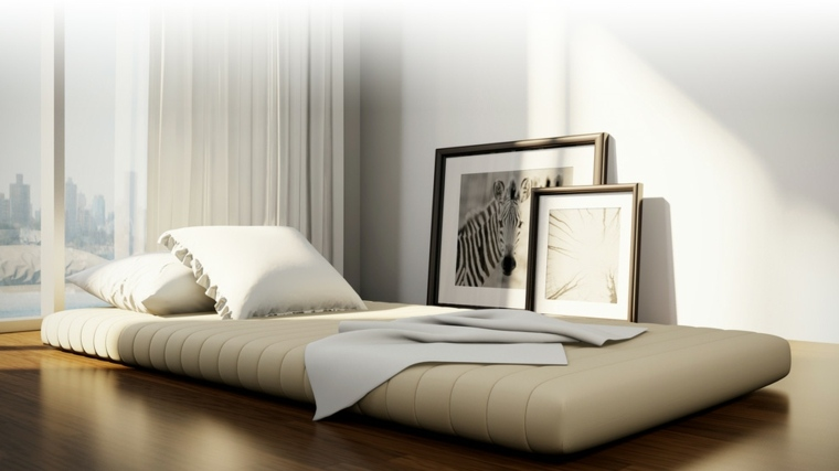 Camas japonesas para unos interiores modernos - Nuevo estilo dormitorios ...