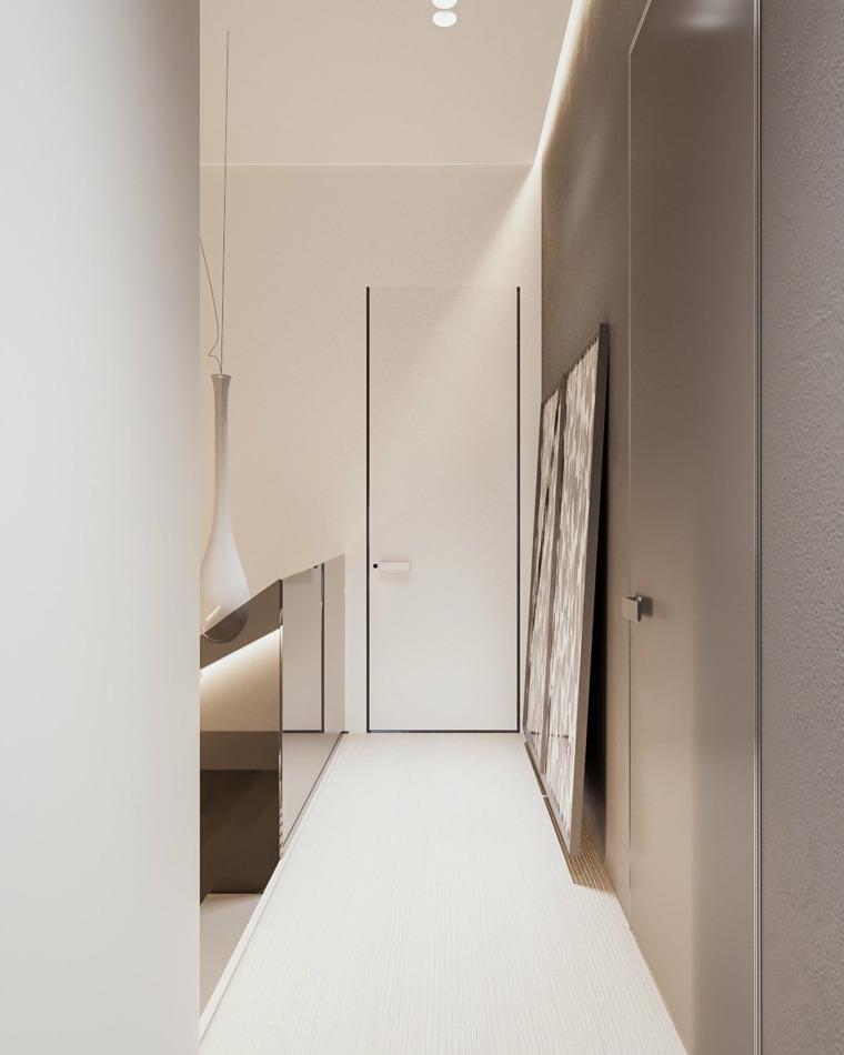 casa minimalista segunda planta fuentes
