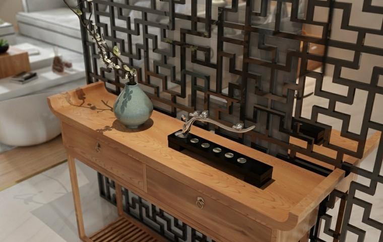 casa zen materiales marmol pequeños