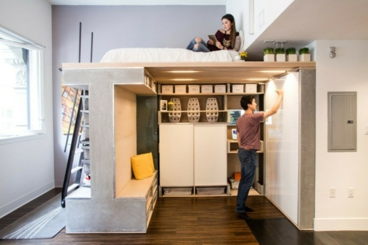 casas almacenamiento ambientes salones cajones