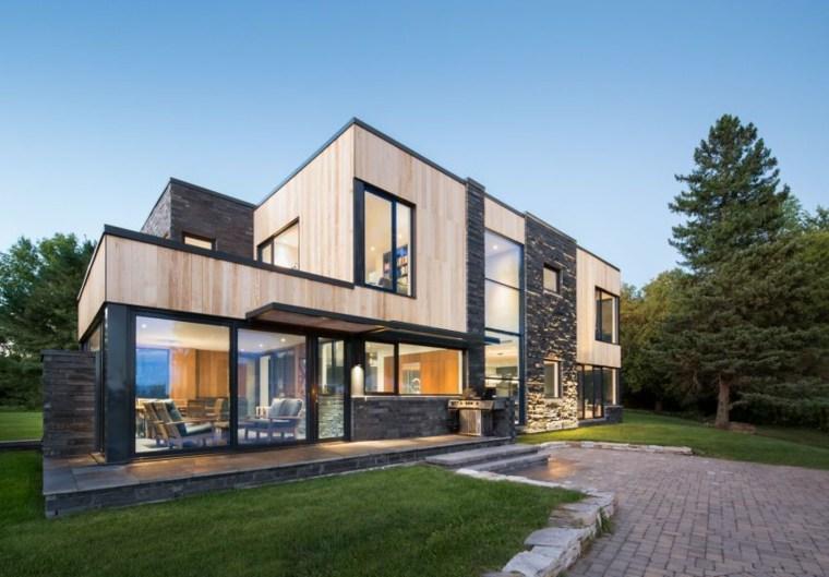 casas estilo contemporáneo fotos lado opciones ideas