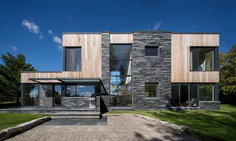 Casas estilo contempor neo un dise o de simard architecture - Estilo arquitectura contemporaneo ...
