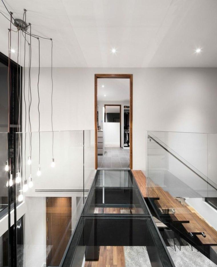 casas estilo contemporáneo suelo cristal ideas