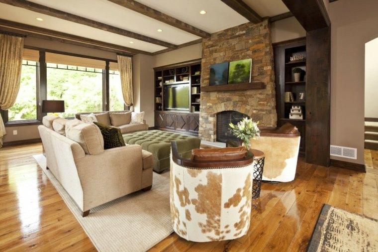 decoracion interior casa rural
