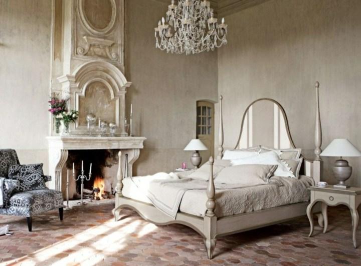 chimeneas camas epacios interiores camas