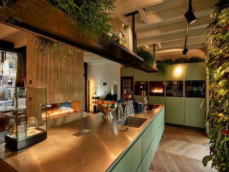 biochimeneas diseno Planika FLA XT fuego natural casa ideas