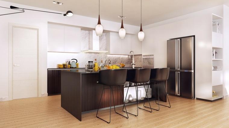 cocina forma diseno elegante opciones ideas