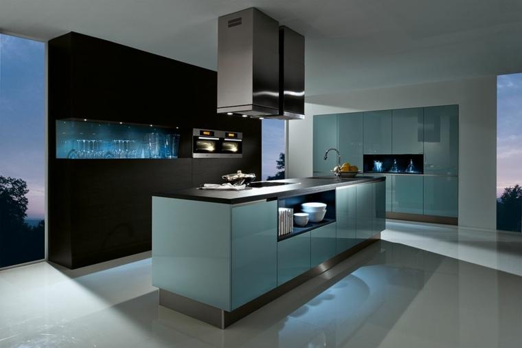 cocina-forma-diseno-muebles-brillantes-color-azul