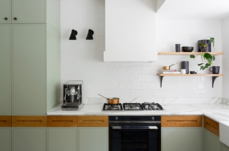 Cocinas forma diseño y tendencias modernas para el 2017 -