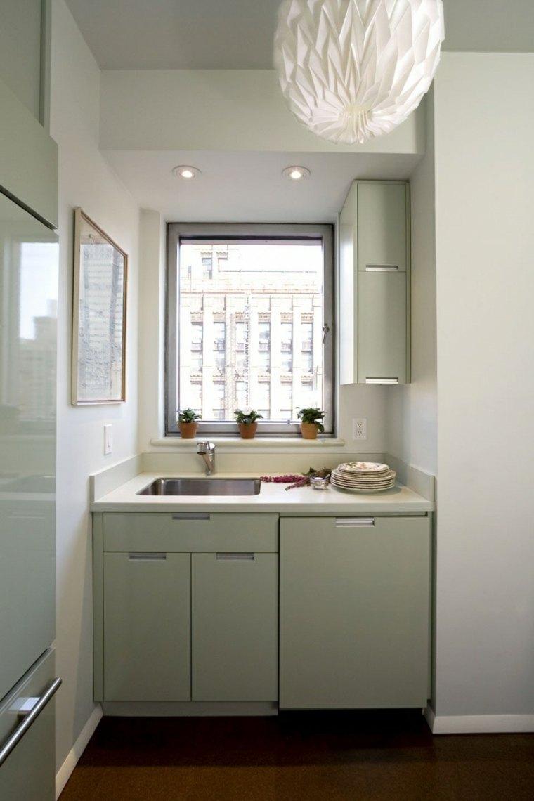 Mini cocinas c mo aprovechar su espacio al m ximo Cocinas muy pequenas