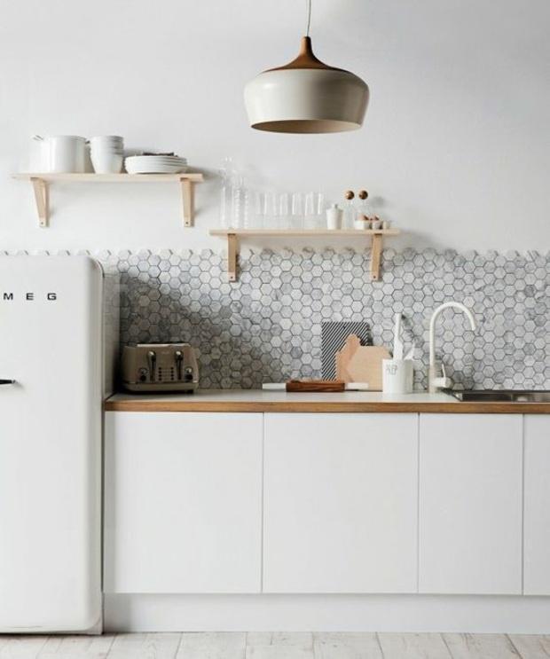 cocinas azulejos madera contraste fresco ambientes