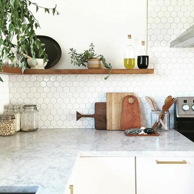 cocinas azulejos marmol peqenos suelos