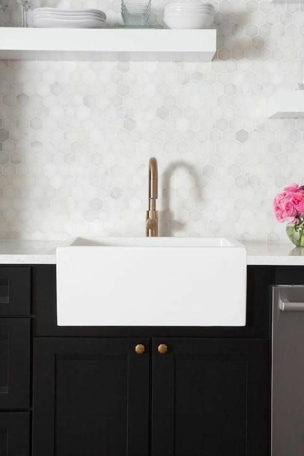 cocinas azulejos modernas claras rosa