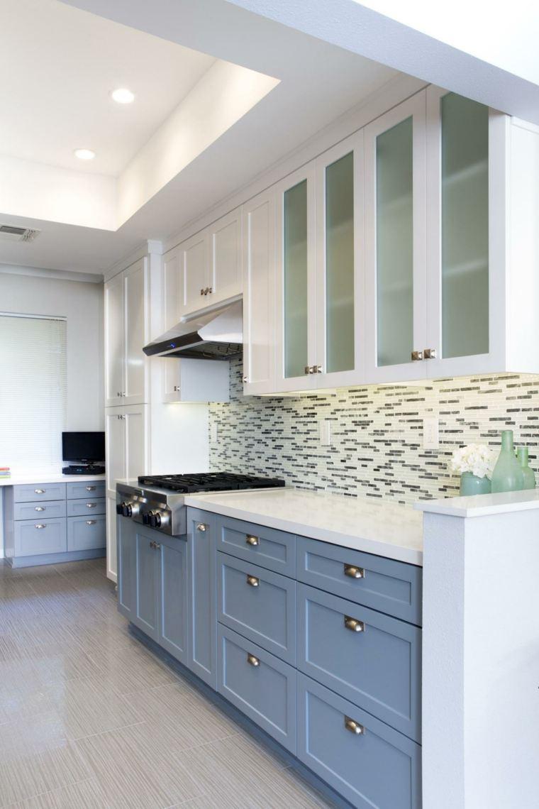 Cocinas con azulejos pintados dise os arquitect nicos for Azulejos para cocina 2016