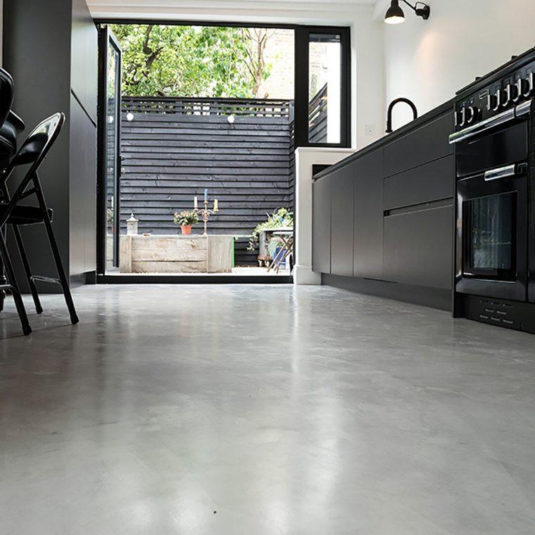 Suelos de microcemento para decorar los interiores - Decoracion con microcemento ...