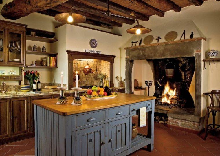 Casas rusticas modernas affordable imagenes de casas de for Cocinas camperas rusticas