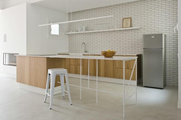 Suelos de microcemento para decorar los interiores - Cocinas con microcemento ...