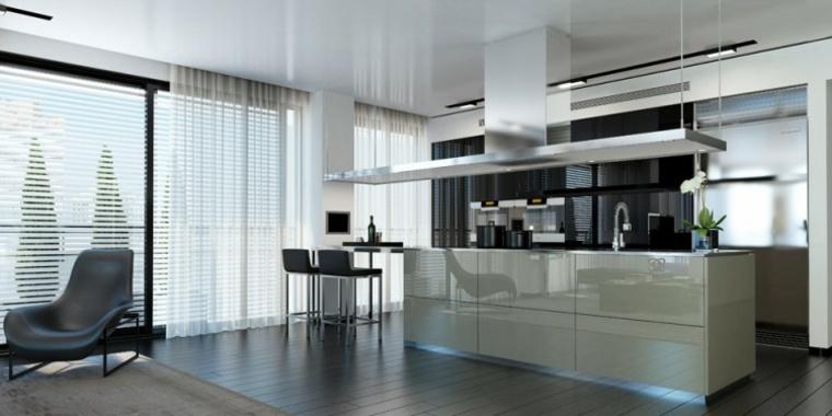 cocinas modernas con barra ando studio ideas