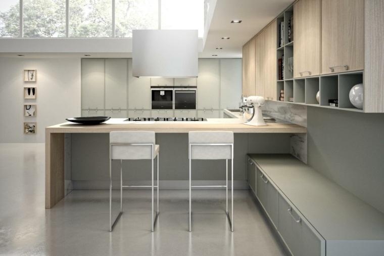cocinas modernas con barra coleccion avenue aster cucine ideas