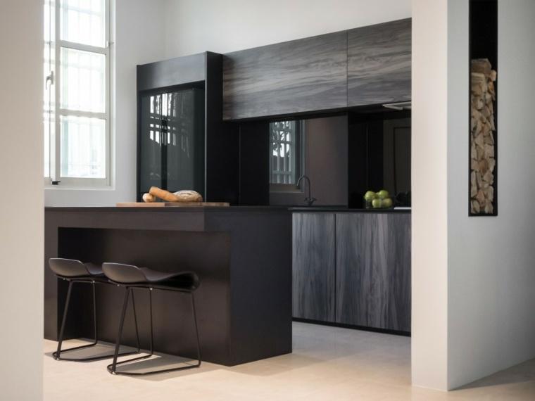 cocinas modernas con barra diseno z axis design ideas