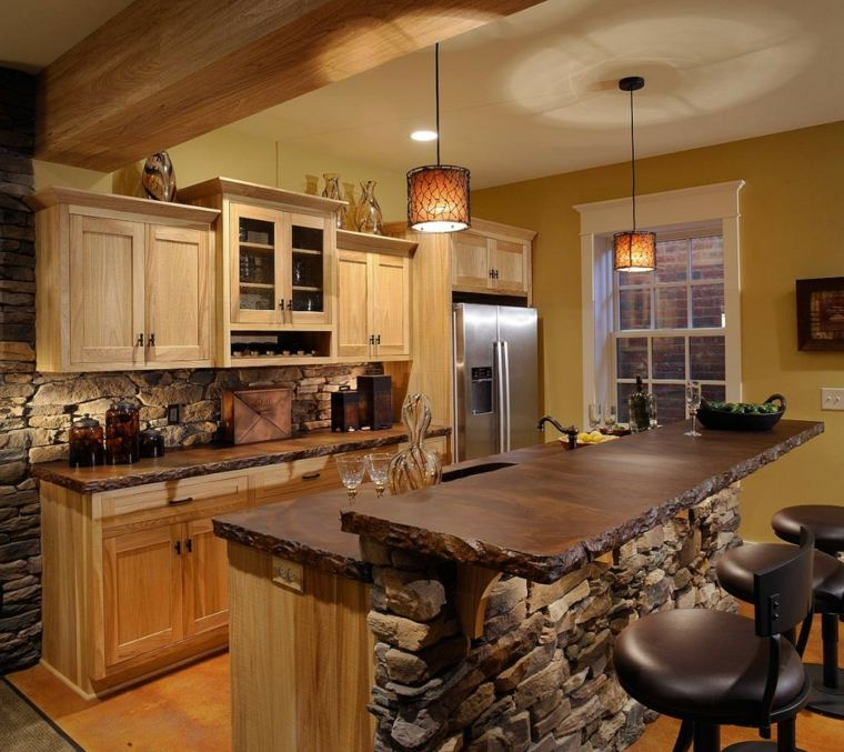 cocinas rurales decoración interior