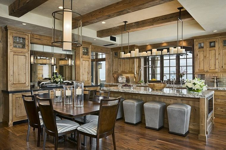 cocinas rurales decoración interiores