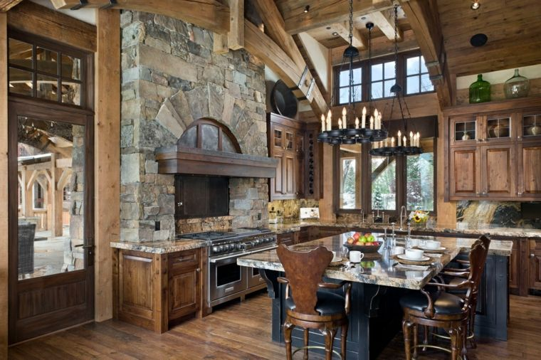 cocinas rurales decoración