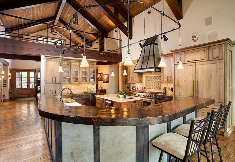 cocinas rurales decorar casa