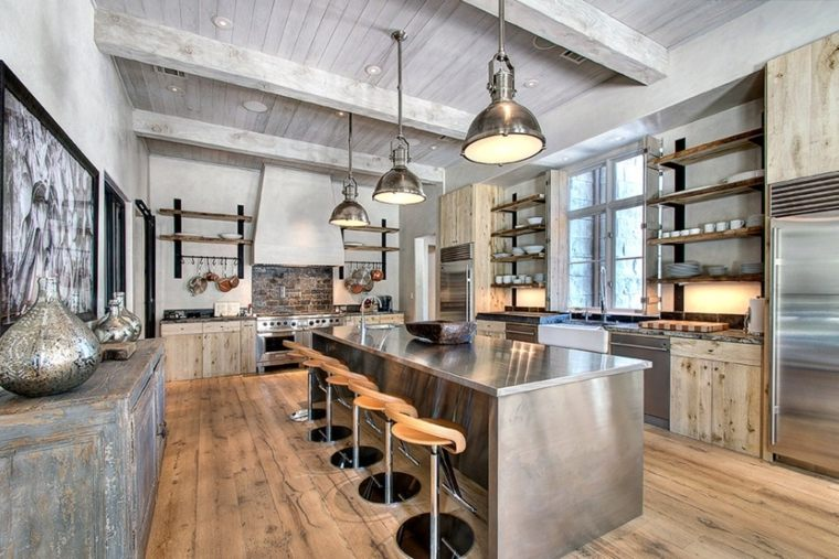 cocinas rurales decorar