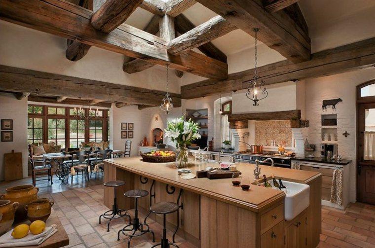 cocinas rurales interior casa