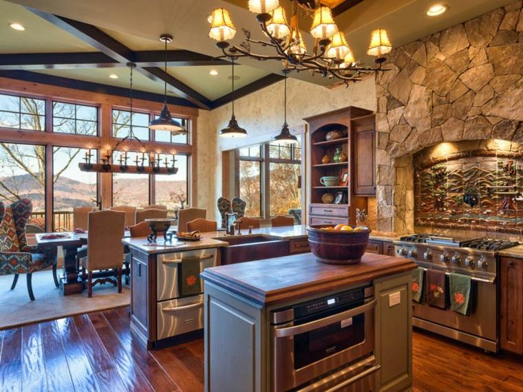 cocinas rústicas interior