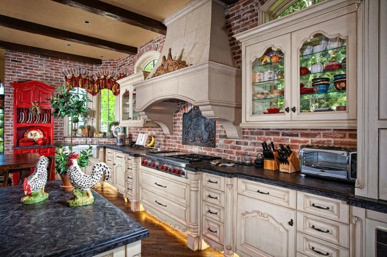 cocinas rústicas y modernas