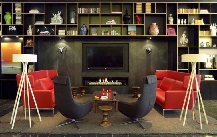 Soportes de pared para tv para decorar el sal n - Design hotel citizenm london ...