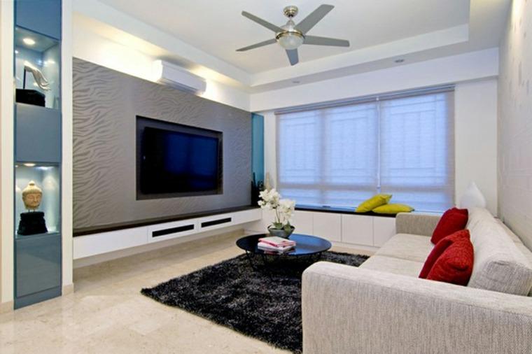 colgar tv en pared